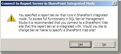 SharePoint Integrated Warning Box